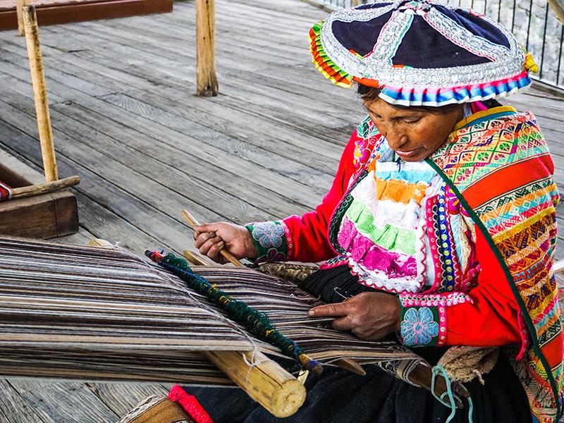 Arequipa Handwerk