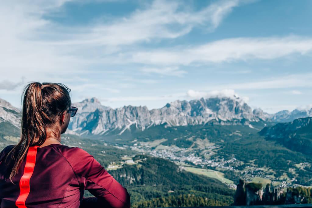 Ausblick Richtung Cortina