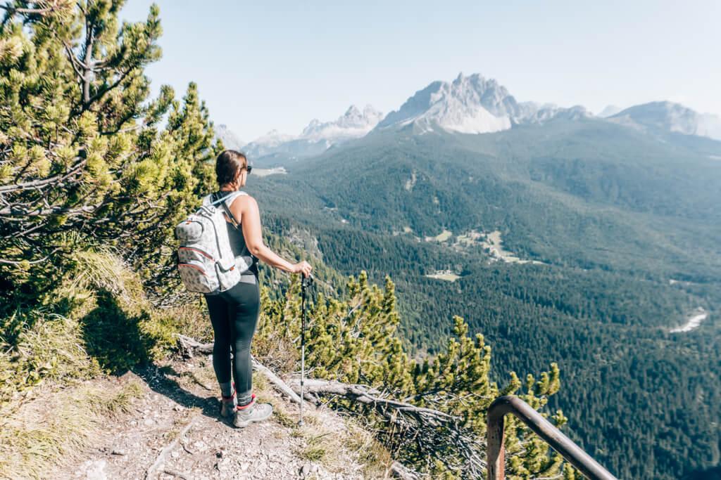 Ausblick in die Dolomiten
