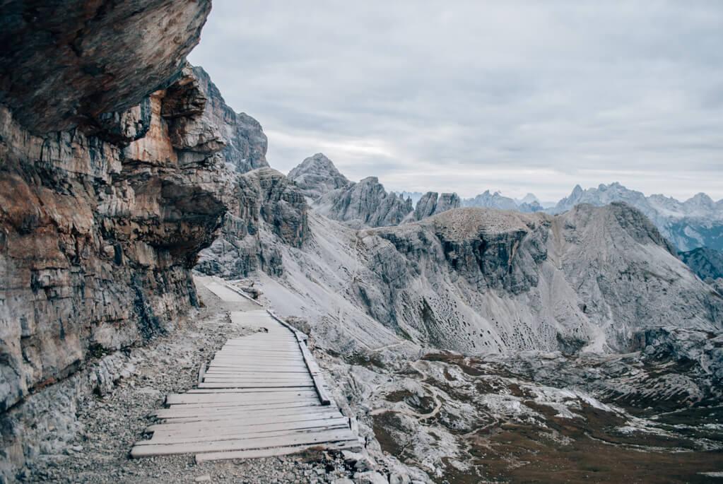 Wanderung durch die Dolomiten
