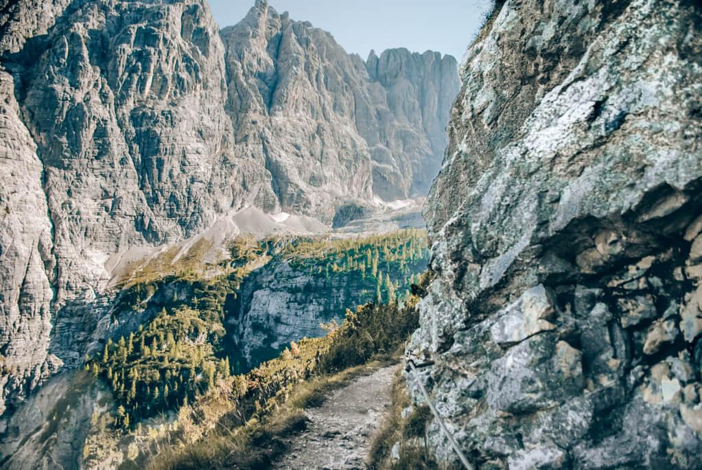Wanderweg zum Lago di Sorapis