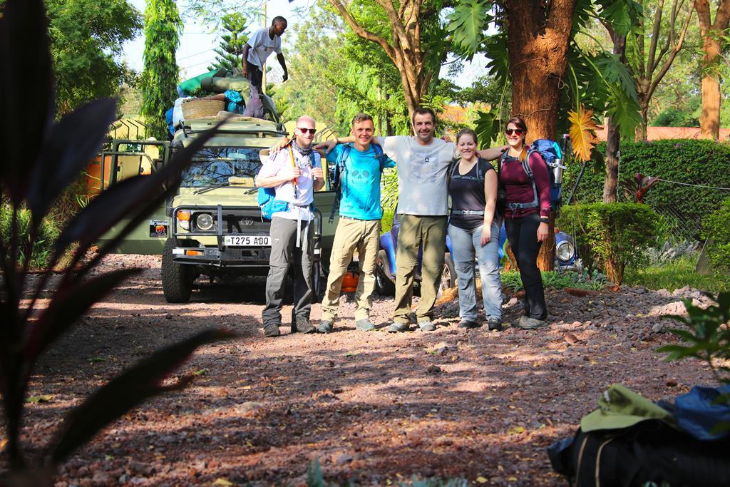 Kilimanjaro Besteigung - es geht los