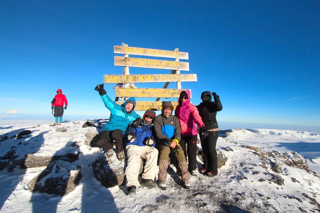 Kilimanjaro Gipfelbild