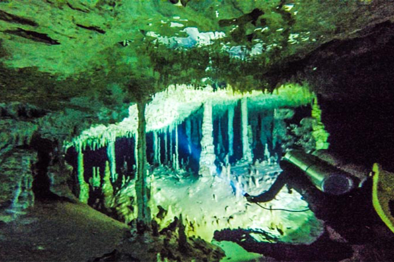 Tauchen in Cenote Dreamgate
