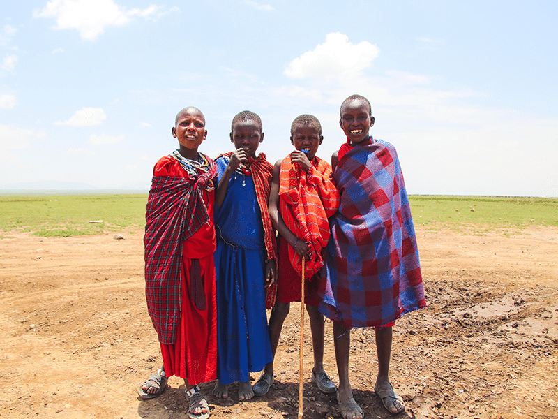 Einheimische Tansania