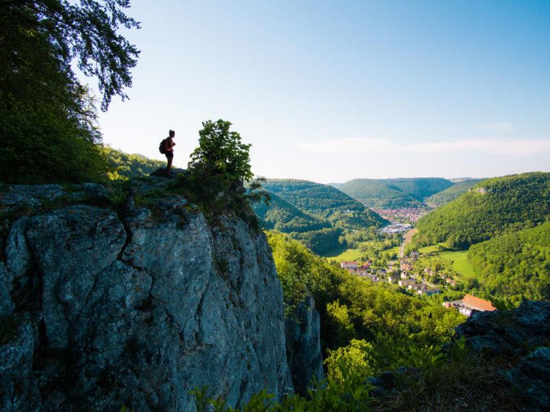 Panorama-Blick Ermstal