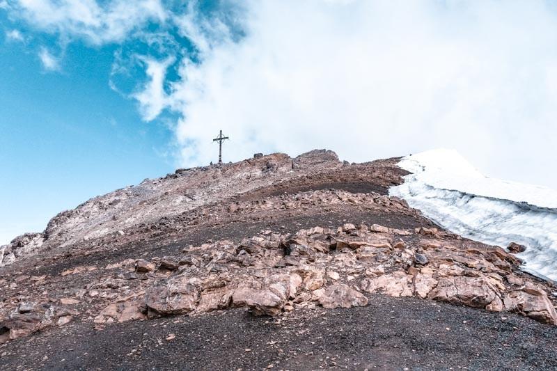 Gipfelkreuz der Schesaplana