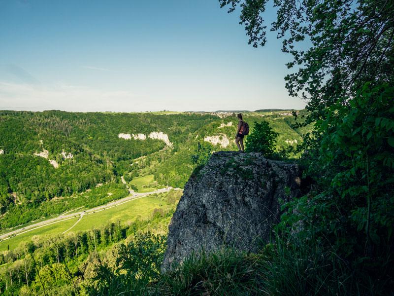 Panoramaausblick Schorrenfels