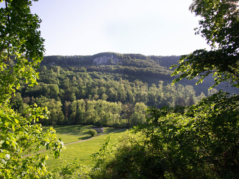 Schorrenfels Ausblick