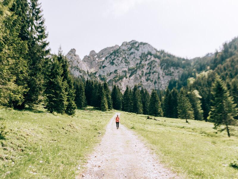 Wanderung zur Drehhütte