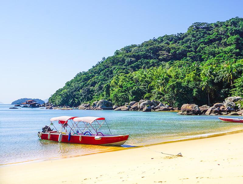 Bootsfahrt auf der Ilha Grande
