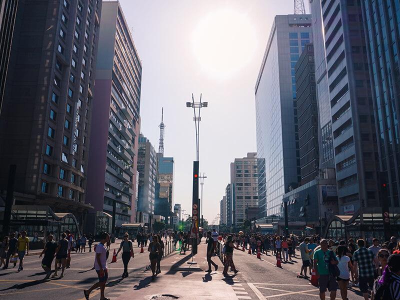 Sao Paulo Paulista Avenue