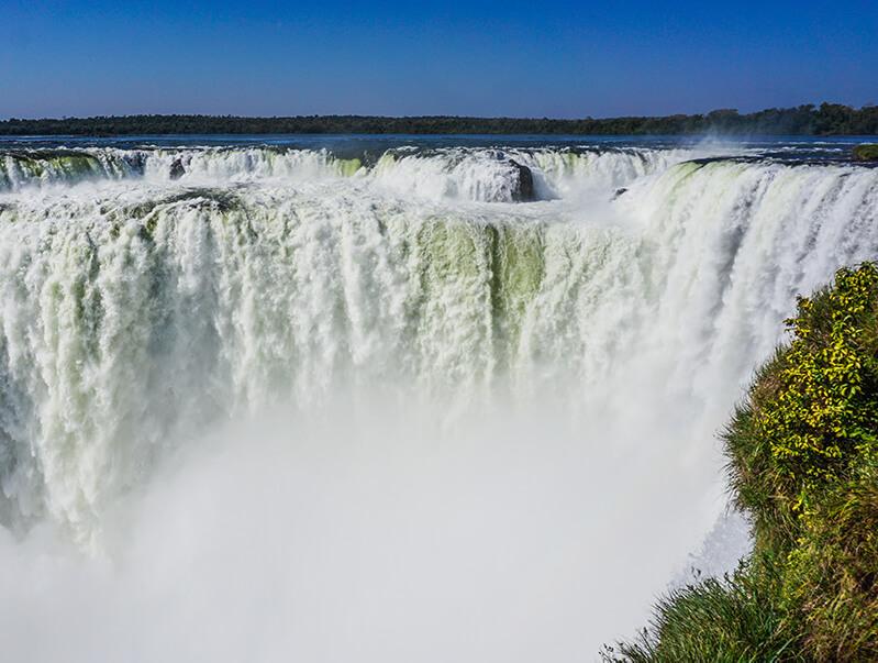 Argentinien Iguazu Wasserfall