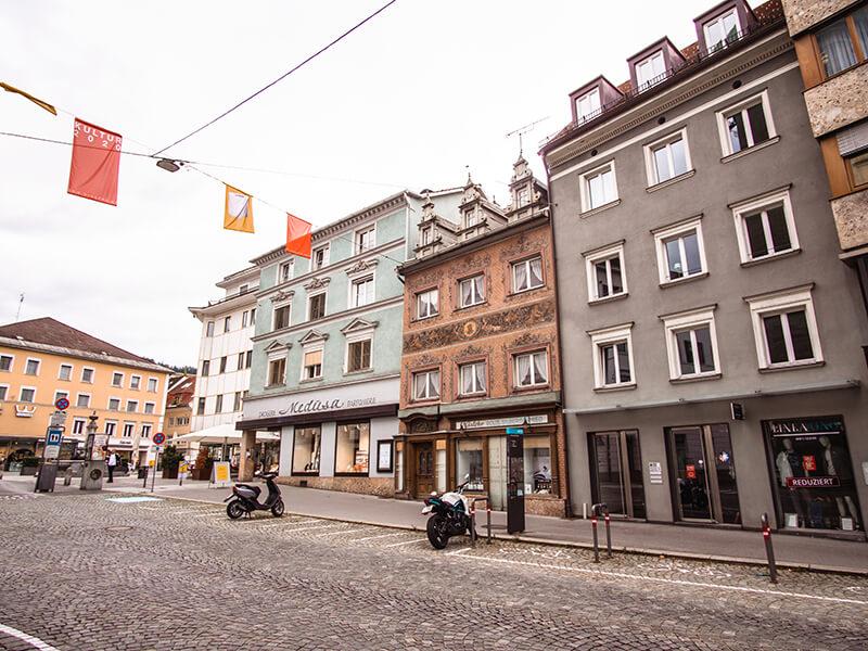 Rundgang durch die Bregenzer Stadt