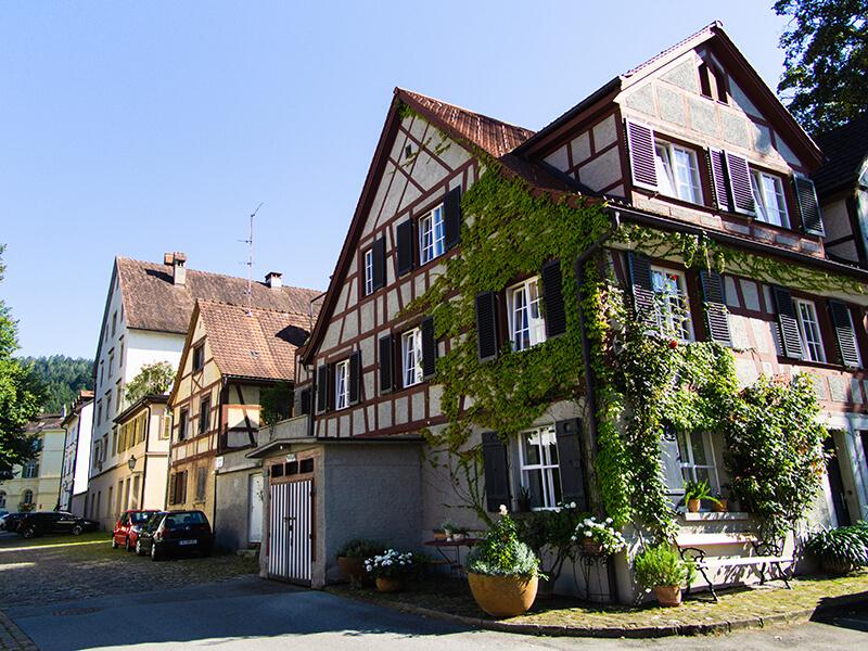 Fachwerkhäuser in der Oberstadt