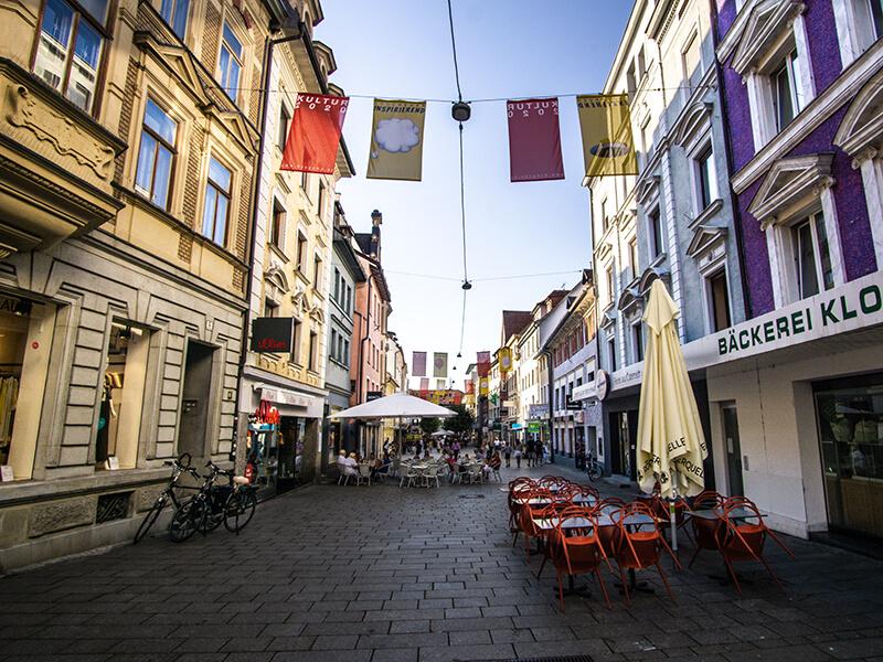 Einkaufsstraße Bregenz