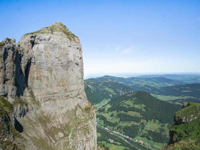 Kanisfluh Wandern in Vorarlberg