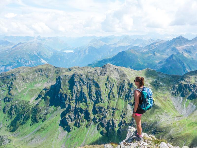Bergpanorama Heimspitze