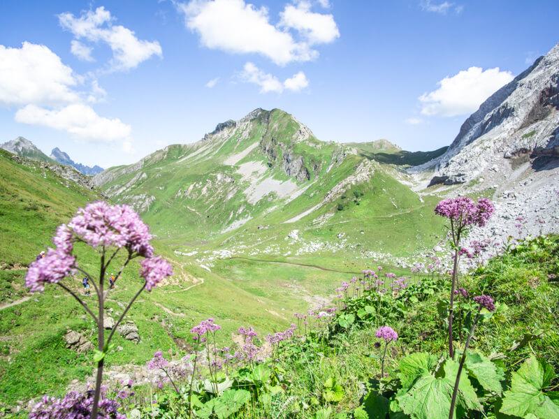 Idyllisch Wandern in Vorarlberg