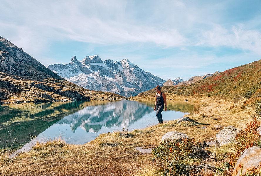 Wandern Herbst Tobelsee
