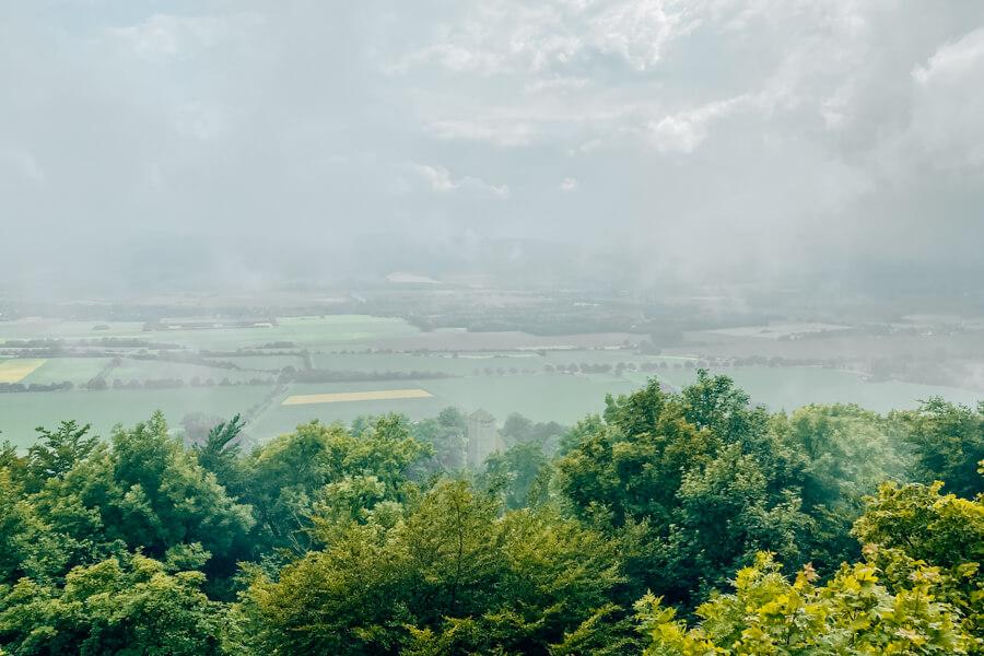 Ausblick von der Paschenburg