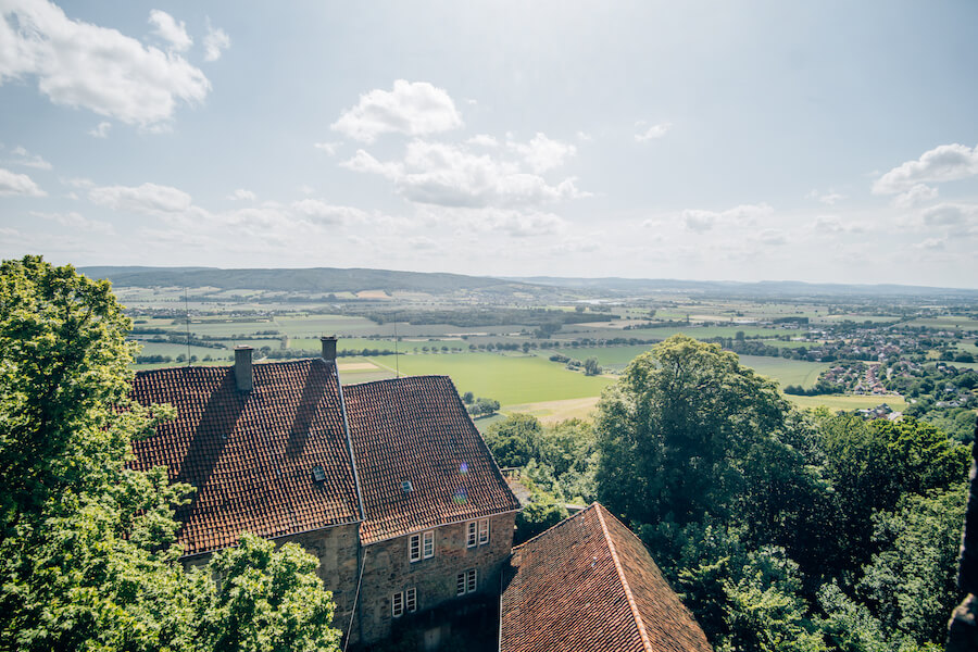 Ausblick von der Schaumburg