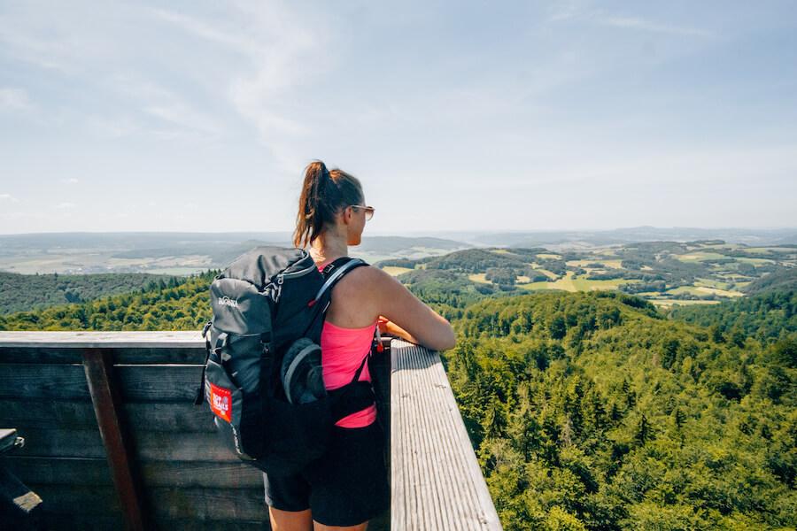 Panoramaausblick Ebersnackenturm