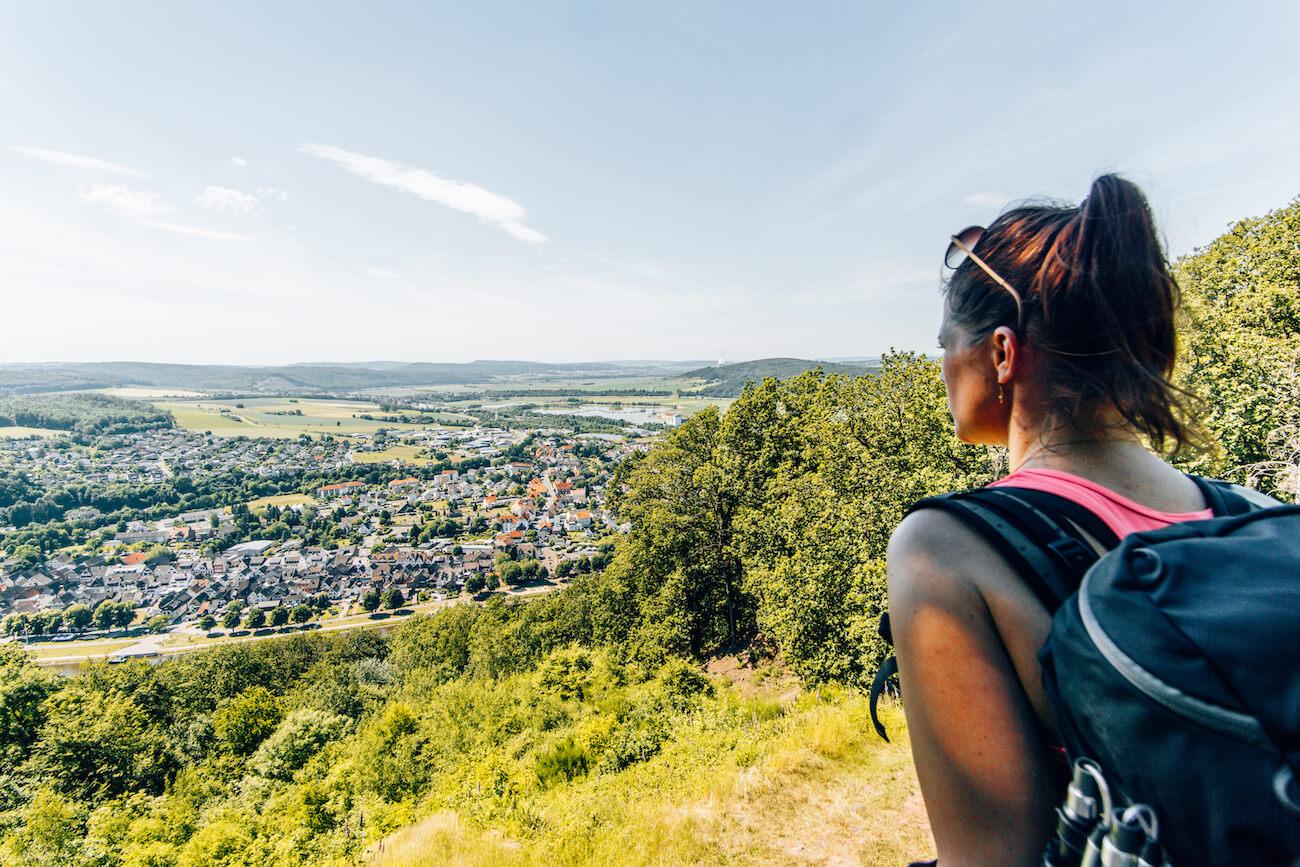 Wandern auf dem Weserbgland-Weg