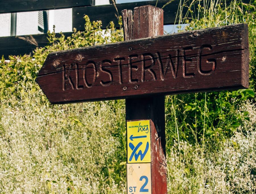 Wanderbeschriftung Weserbergland-Weg