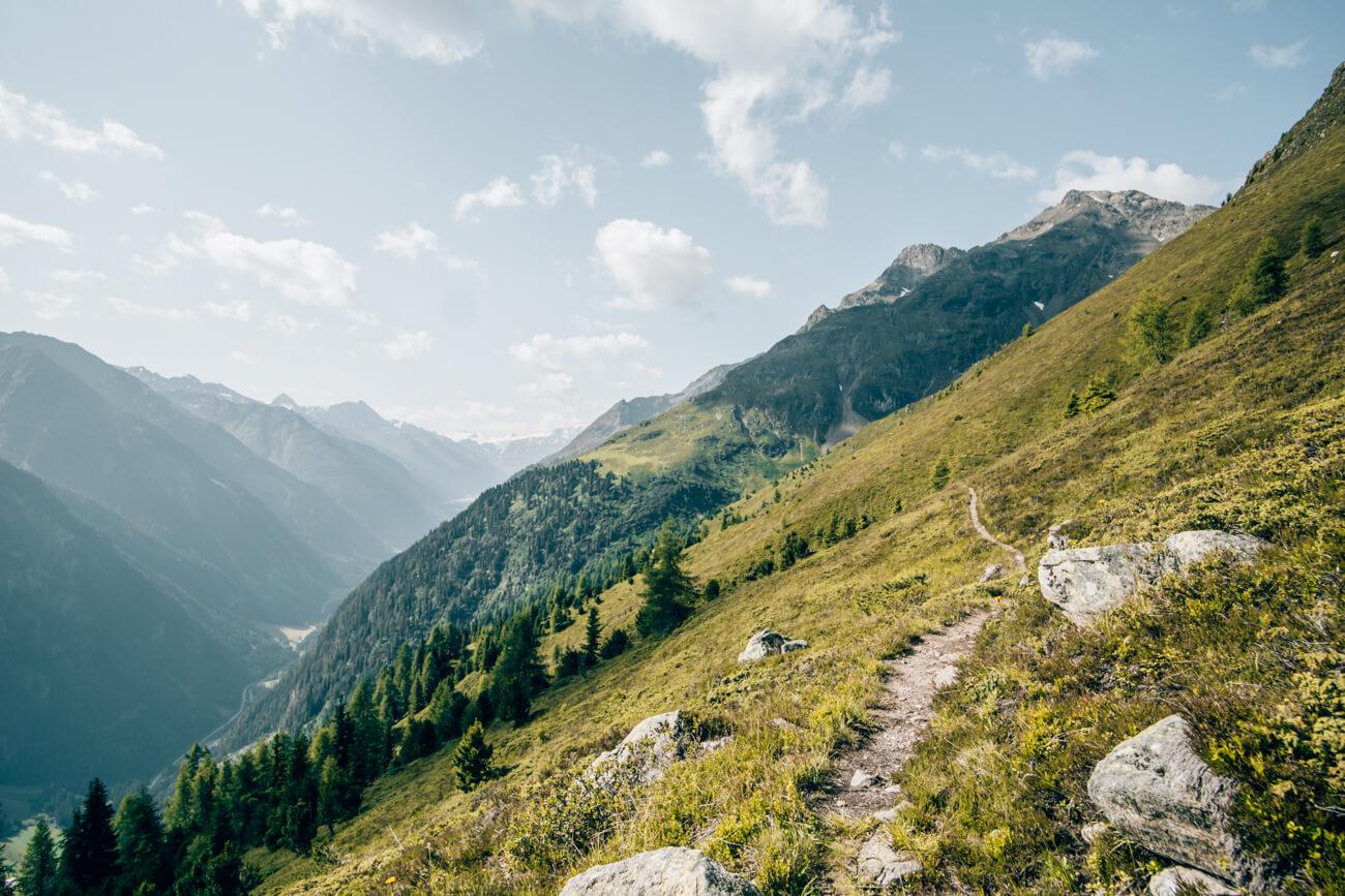 Wanderung im Kaunertal auf dem Thomas Penz Weg