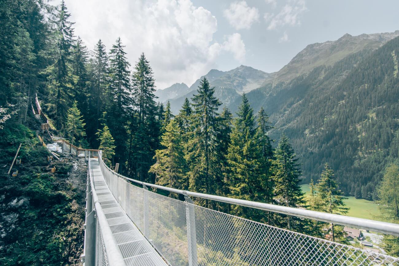 Hängebrücke Verpeilschlucht