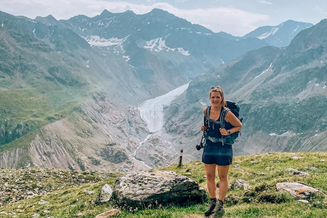 Wanderung zur Gletscherzunge im Kaunertal