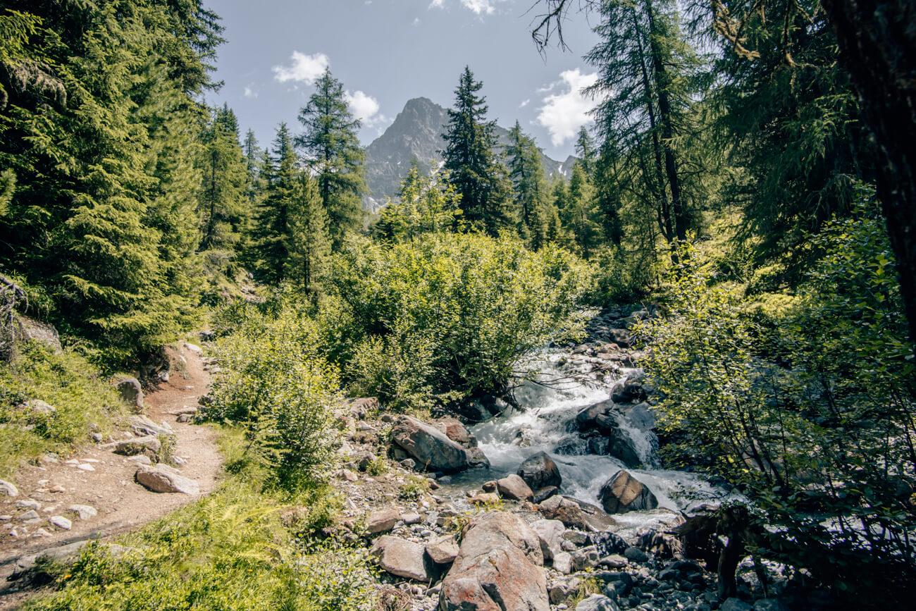 idyllische Wanderung im Kaunertal