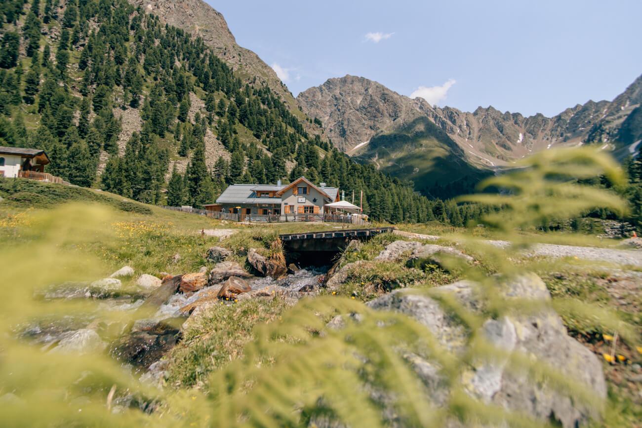 Verpeilhütte im Kaunertal